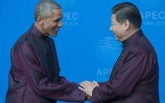 Си Цзиньпин и Барак Обама © РИА Новости, Сергей Гунеев