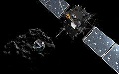 Отделение модуля «Фила» от космического зонда «Розетта». Фото с сайта esa.int