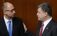 Петр Порошенко и Арсений Яценюк © РИА Новости, Евгений Котенко
