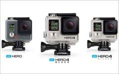 Камеры GoPro. Фото с сайта gopro.com