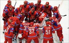 Сборная России на зимних Олимпийских играх 2010 года. Фото с сайта wikimedia.org