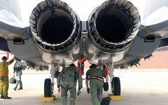 Сопла истребителя F-15. Фото с сайта wikimedia.org