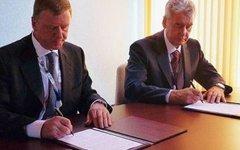 Анатолий Чубайс и Сергей Собянин. Фото с сайта venture-news.ru