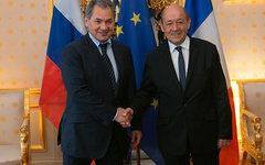 Сергей Шойгу и Жан-Ив ле Дриан. Фото с сайта mil.ru