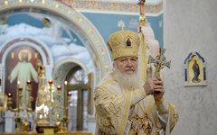 Патриарх Кирилл. Фото с сайта patriarchia.ru