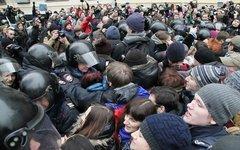 Столкновения на Болотной площади © KM.RU, Алексей Белкин