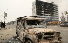 Дома печати, где проходила спецоперация © РИА Новости, Саид Царнаев