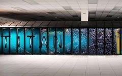 Суперкомпьютер Titan. Фото с сайта wikimedia.org