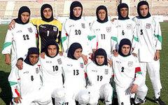 Женская сборная Ирана по футболу. Фото с сайта gooya.eu