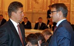 Алексей Миллер и Герман Греф © РИА Новости, Дмитрий Астахов