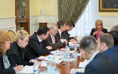 Заседание Организационного комитета. Фото с сайта mkrf.ru