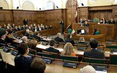 Заседание Сейма Латвии. Фото с сайта flickr.com