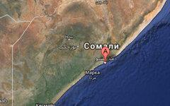Могадишо. Изображение сервиса GoogleMaps