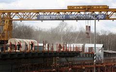 Строительство трассы Москва — Петербург © РИА Новости, Евгений Биятов