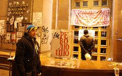 Захваченная мэрия Киева © KM.RU, Алексей Белкин