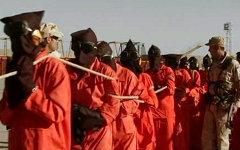 Заключенные в тюрьме Гуантанамо. Фото с сайта wikimedia.org