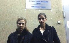 Мария Алехина и Надежда Толоконникова. Фото из Твиттера Толоконниковой