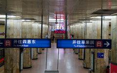 Пекинское метро. Фото пользователя Flickr Marko Kudjerski