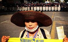 Протестующая в Таиланде. Фото пользователя Instagram jackkurtz