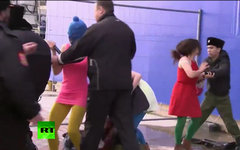 Стоп-кадр телеканала RussiaToday