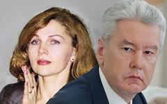 Ирина и Сергей Собянины. Коллаж © KM.RU
