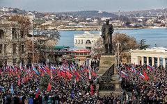 Митинг в Севастополе. Фото пользователя «ЖЖ» asaratov