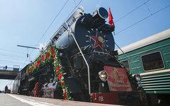 Ретро-поезд «Победа» © РИА Новости, Кирилл Брага