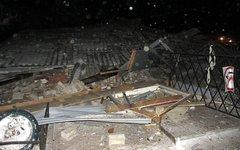 Место происшествия. Фото пресс-службы ГУ МЧС по Вологодской области