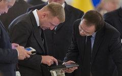 Дмитрий Ливанов (слева) © РИА Новости, Сергей Гунеев