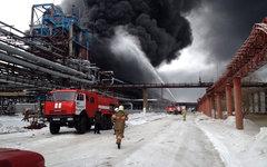 Место происшествия. Фото с сайта 55.mchs.gov.ru