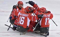 Сборная России по следж-хоккею © РИА Новости, Григорий Сысоев