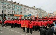 Митинг в поддержку Крыма. Фото пользователя Твиттер @dimitri_matveev