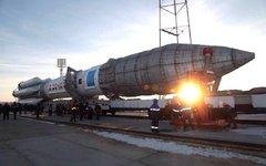 «Протон-М» с двумя спутниками. Фото из Instagram «Роскосмоса»