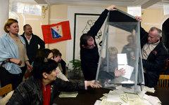 Избирательный участок в Севастополе© РИА Новости, Валерий Мельников