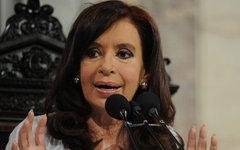 Кристина Фернандес де Киршнер. Фото с сайта casarosada.gov.ar