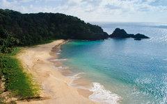 Пляж Бая до Санчо в Бразилии. Фото пользователя Flickr Roberto Faccenda