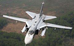 Бомбардировщик Су-24М. Фото с сайта airliners.net