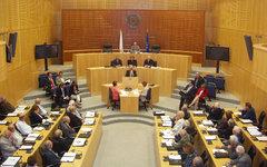 Заседание Парламента Республики Кипр. Фото с сайта parliament.cy