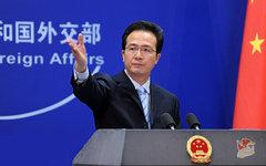 Хун Лэй. Фото с сайта fmprc.gov.cn