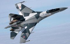 Самолет Су-35. Фото с сайта sukhoi.org