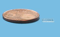 На подложке рядом с монетой различные типы «объективов». Фото с сайта rambus.com