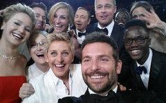 «Звездное селфи» Оскара-2014. Фото с офстраницы премии