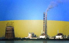 Запорожская АЭС. Коллаж © KM.RU