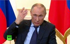 Владимир Путин. Кадр телеканала Russia Today