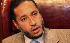 Саади Каддафи. Фото с сайта indiavision.com