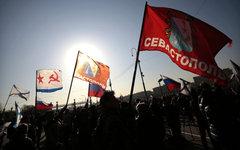 Митинг в поддержку жителей Крыма в Москве © РИА Новости, Алексей Ничукин