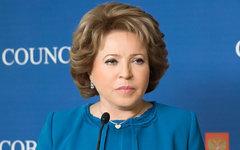 Валентина Матвиенко. Фото с сайта council.gov.ru