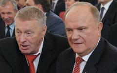 Владимир Жириновский и Геннадий Зюганов © РИА Новости, Алексей Никольский