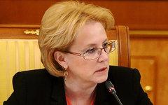 Вероника Скворцова. Фото с сайта government.ru
