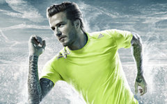 Дэвид Бэкхем. Фото с сайта adidas.ru